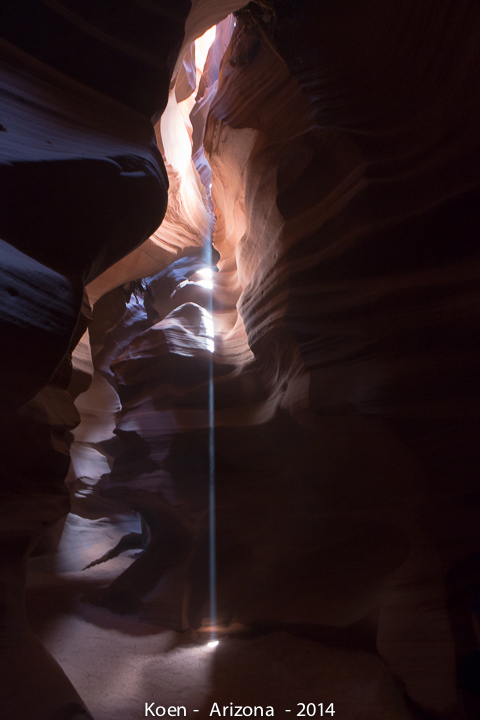 Antelope Canyon, by koen blanquART