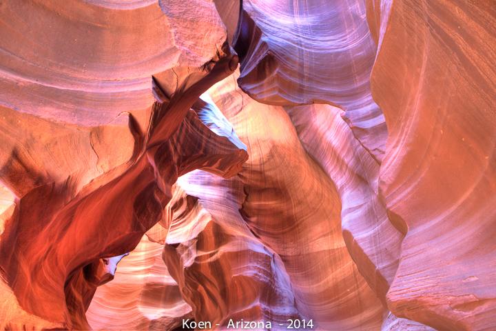 Antelope Canyon (Image: Koen Blanquart)