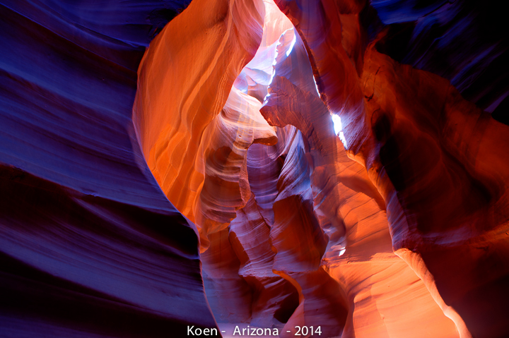 An interpretation in HDR of Antelope Canyon (Image: Koen Blanquart)