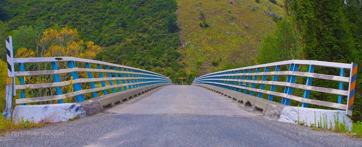 Bridge over Motueka River