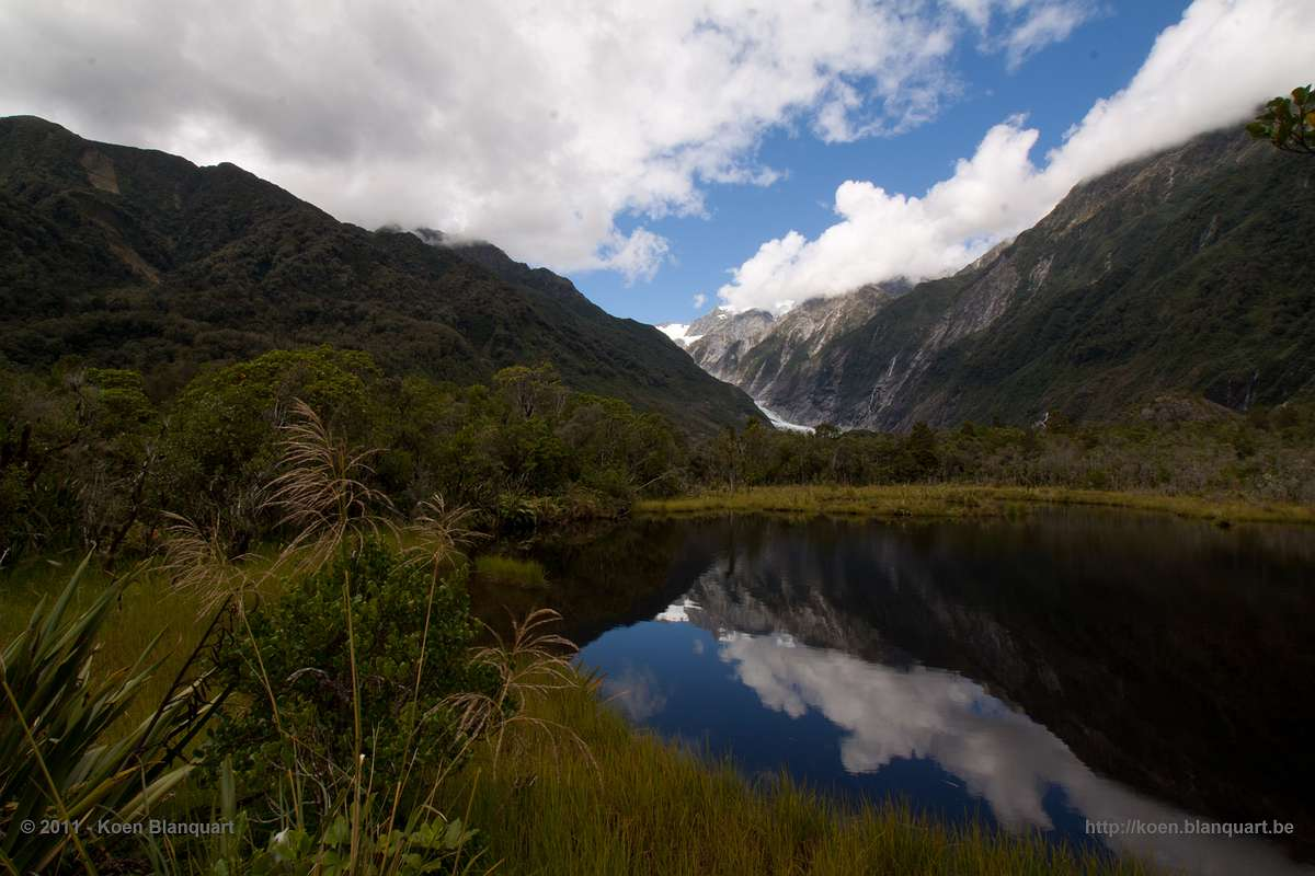 Peter's Pool at Franz Josef Glacier