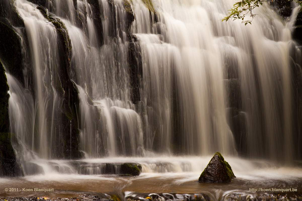 Purakaunui waterfalls - New Zealand
