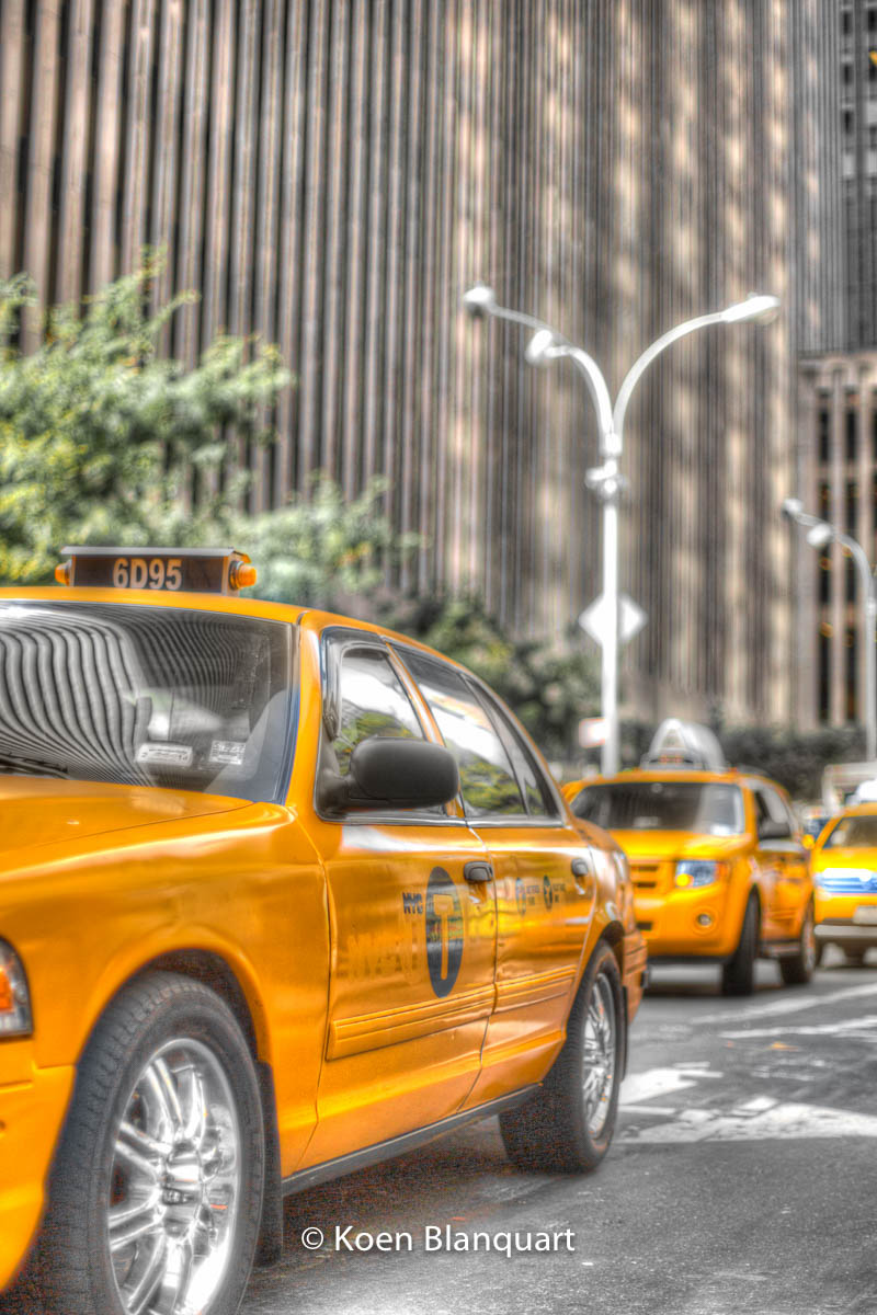 Midtown NYC - taxi