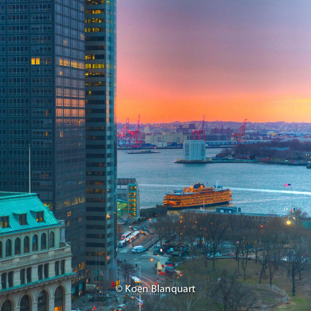 Lower Manhattan - Sunset