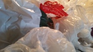 Everything we buy, or get delivered in NYC comes in plastic bags.