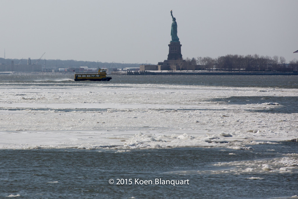 The Liberty Landing Ferry Service Ferry returns to New Jersey