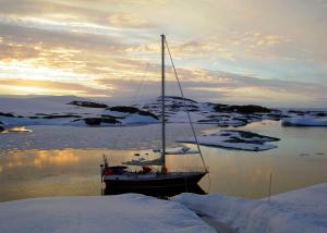 The Sarah Vorwerk in Antarctica (Image courtesy of Sarah Vorwerk)