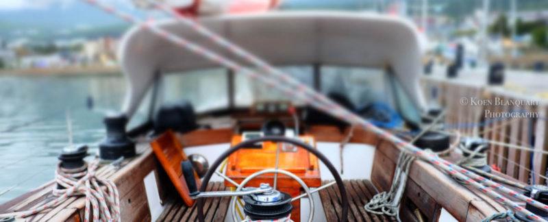 The Sarah Vorwerk, docked in Ushuaia